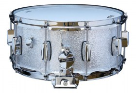 Rogers_1465_SnareDrum_BB_lug_Silver_Sparkle_01