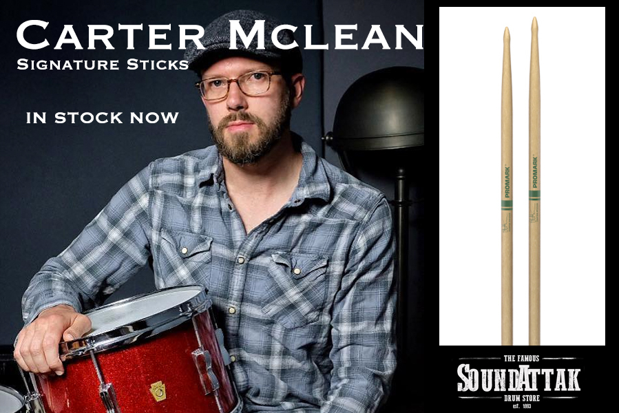 New Promark Carter McLean Signature Sticks - IN STOCK NOW